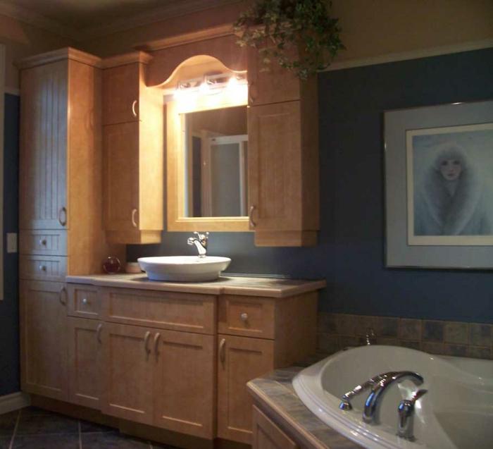 Beleuchtung-Wandschrank-für-Badezimmer-waschbecken-badewanne