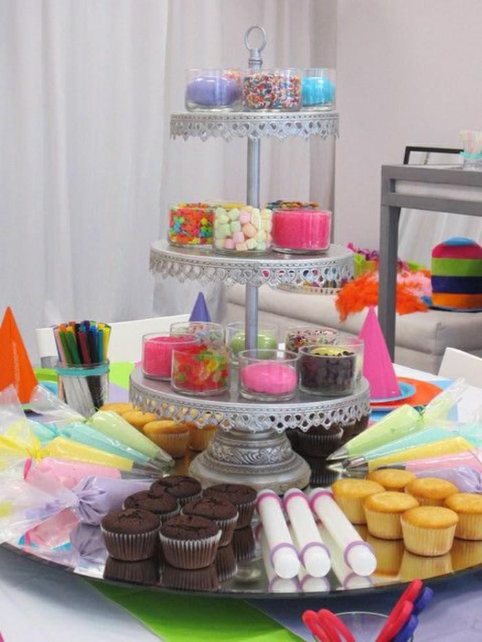 Cupcake Making Kit And Cake Stand