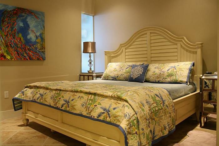 Großes-Bett-abstrakt-bild