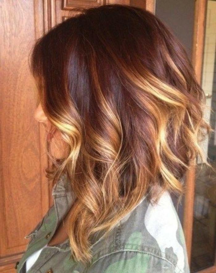 Herbst-frisuren-braun-mit-blond