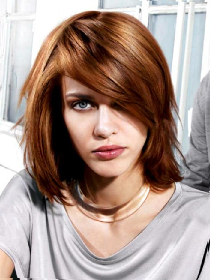 Herbst-frisuren-rötlich-kurze-haarschnitt