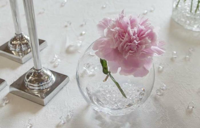 Hochzeit-tischdekoration-kugel