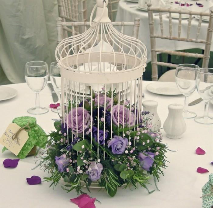 Hochzeit-tischdekoration-vintage