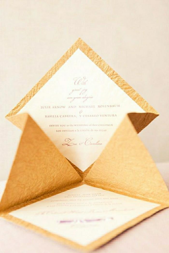 Schön 51 Originelle Designs Von Hochzeitseinladungen ...