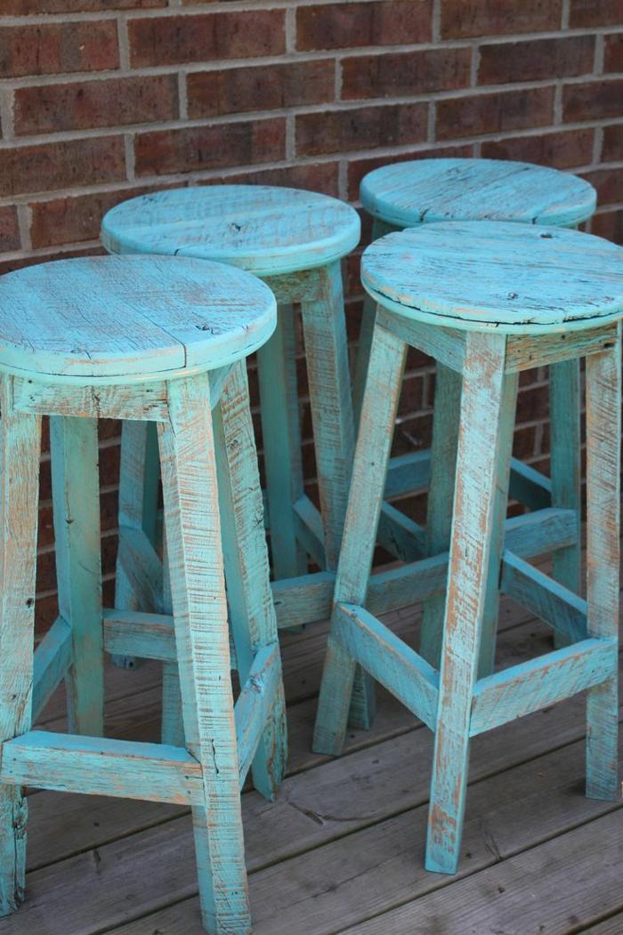 Hocker-blau-rustikal-vintage