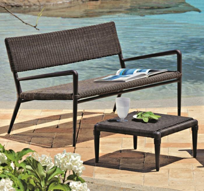 polyrattan gartenmobel klein interessante. Black Bedroom Furniture Sets. Home Design Ideas