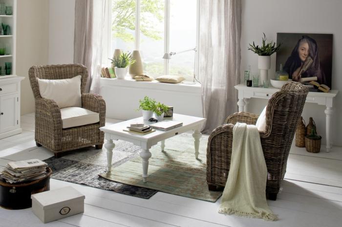 Möbel-aus-Polyrattan-sessel-landhaus