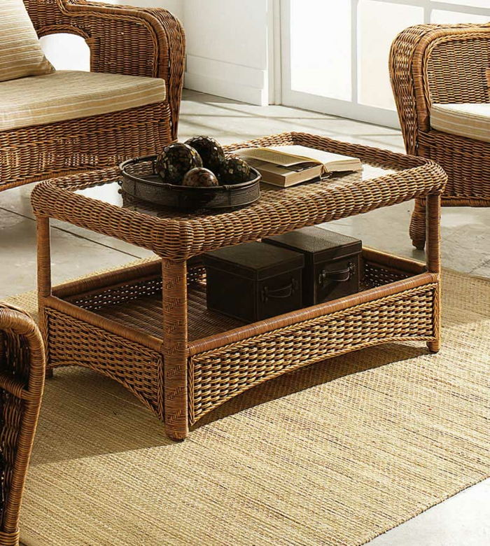 m bel aus polyrattan einige zauberhafte varianten. Black Bedroom Furniture Sets. Home Design Ideas