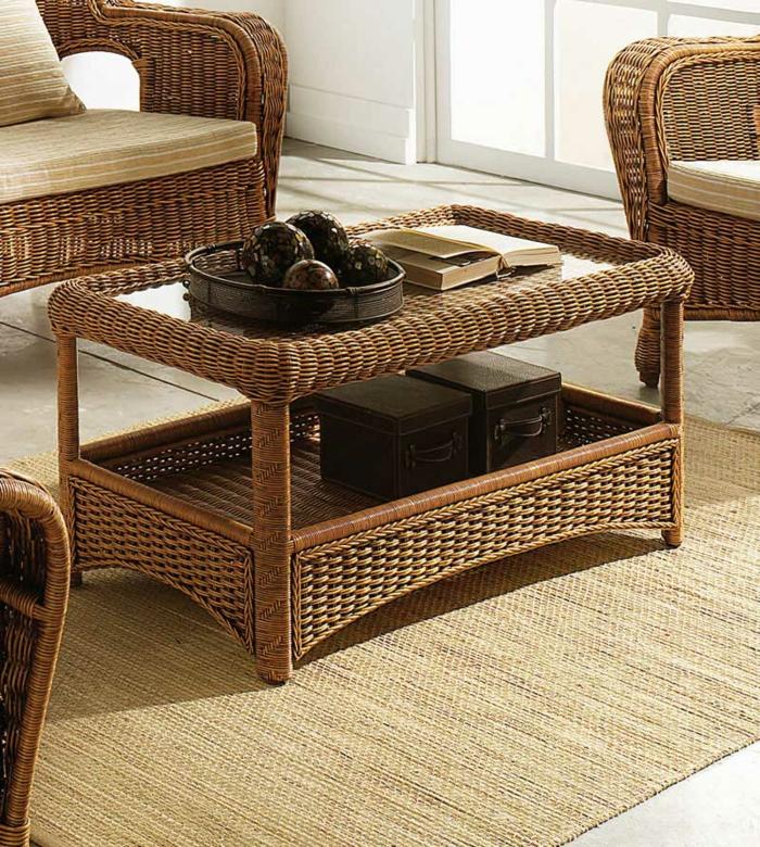 Möbel-aus-Polyrattan-teppich