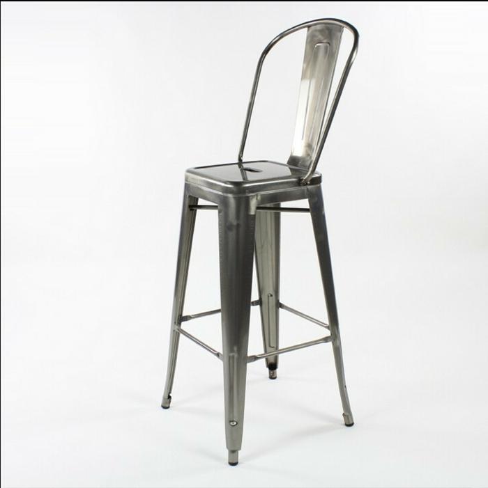 Metall-Stuhl-schickes-Modell-hoch-modern