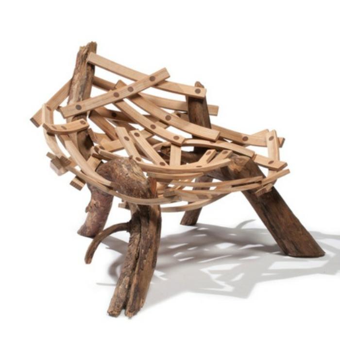 Nest-Form-hölzerne-Elemente-innovativ