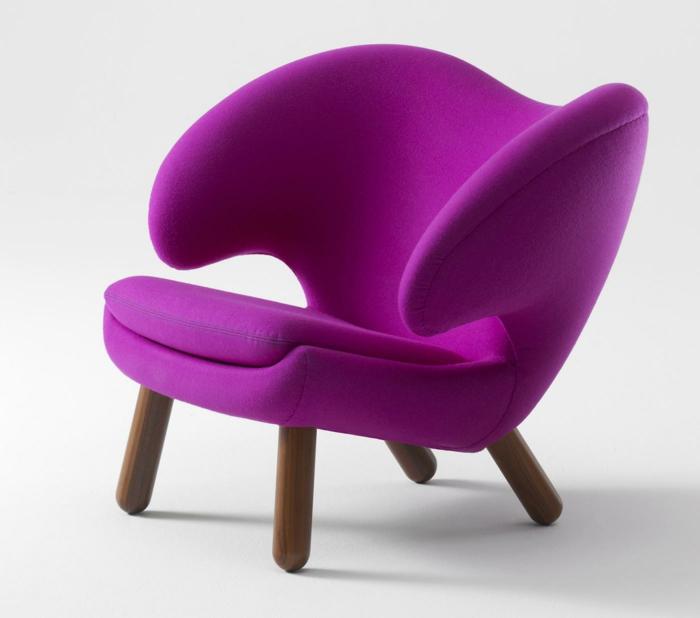 Sessel-Zyklamen-Farbe-bequem
