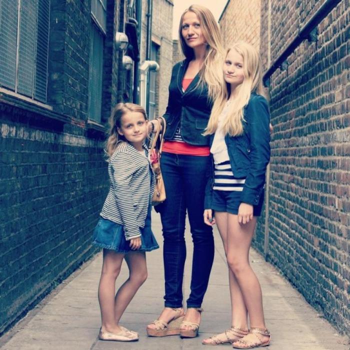 Skandinavishe-Mode-familie