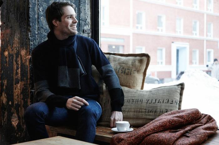 Skandinavishe-Mode-männer-schal-pullover