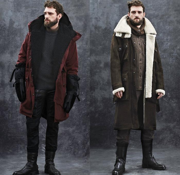 skandinavische Mode Männer Jacken