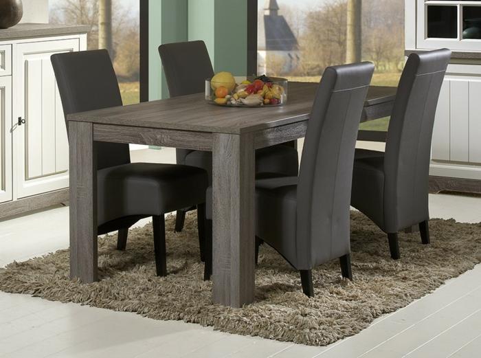 Tisch-mit-Stühlen-obst-leder