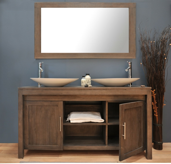 Wandschrank-für-Badezimmer-braun-spülbecken