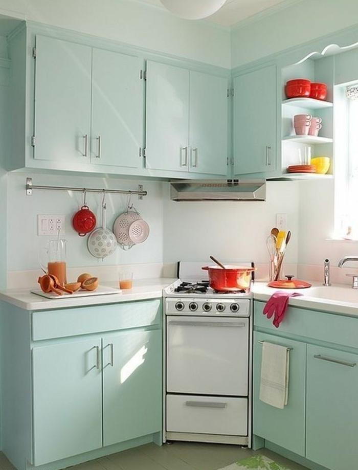 Wandschrank-für-Küche-grün