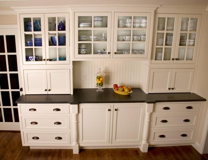 Wandschrank für Küche: glanzvolle Modelle und Muster - Archzine.net
