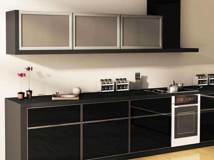 Wandschrank-für-Küche-schwarz-deko-