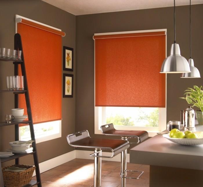 Wohnzimmer Deko Orange  Wohnzimmer Ideen