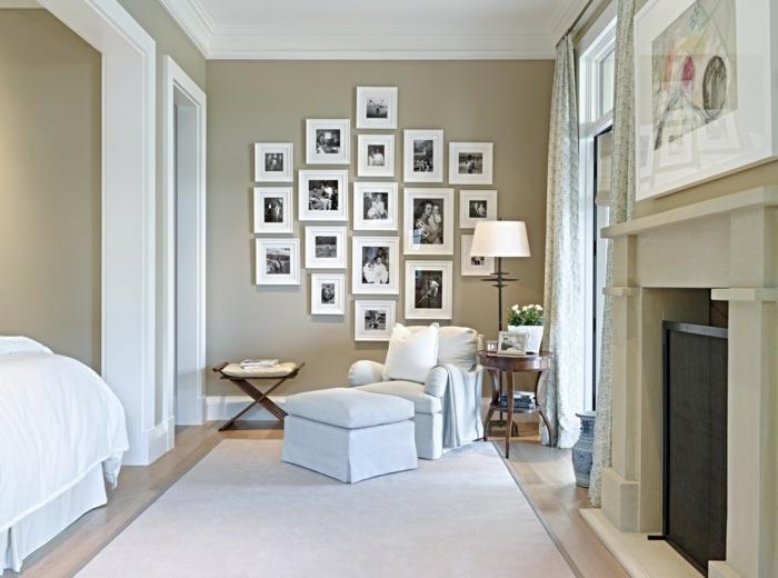 interessante bilder an der wand im wohnzimmer. Black Bedroom Furniture Sets. Home Design Ideas
