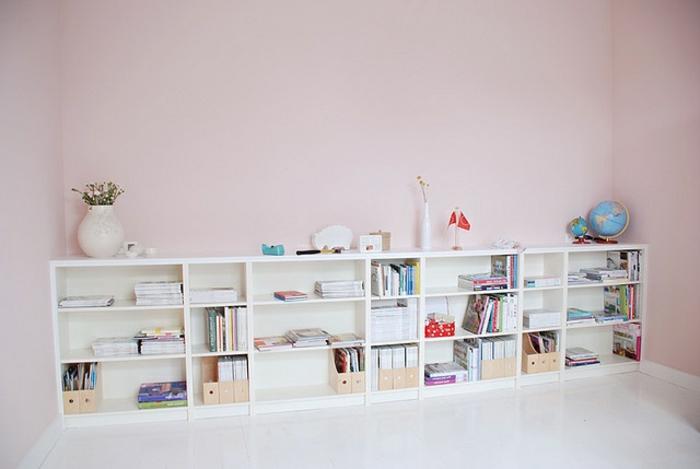 Bücherregal in Weiß einige sehr schöne Designs! ~ Bücherregal Weis