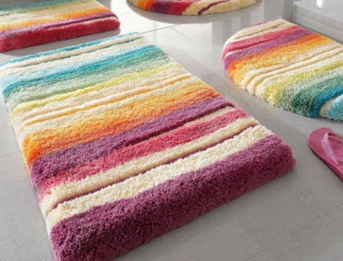 Badezimmer matten flaumig