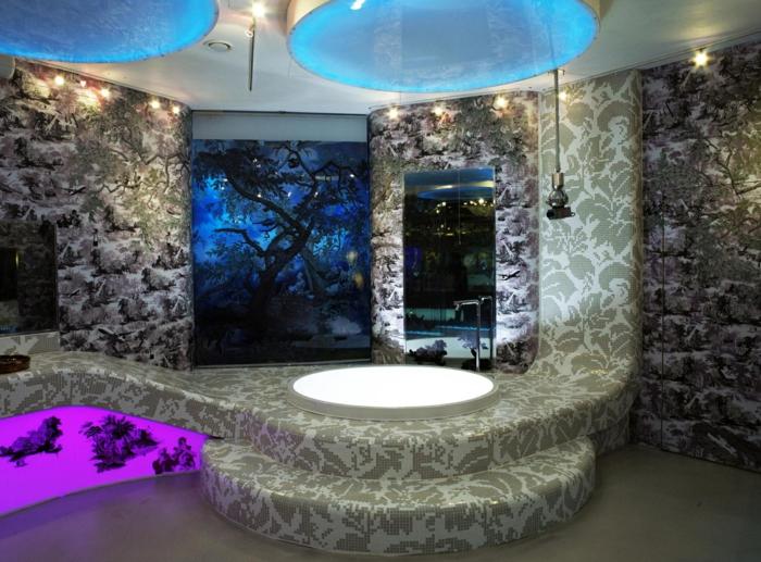 verschiedene arten von fliesen im bad. Black Bedroom Furniture Sets. Home Design Ideas
