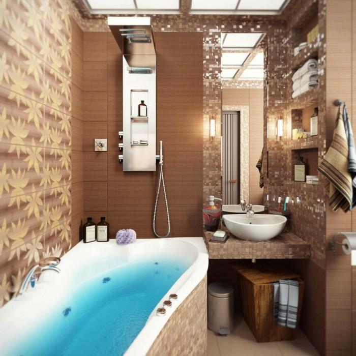 badezimmer-mit-mosaik-braune-schöne-nuancen