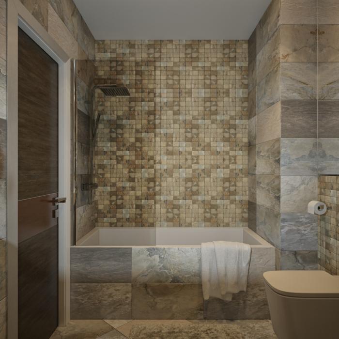 Badezimmer Mit Mosaik Gestalten Ideen.