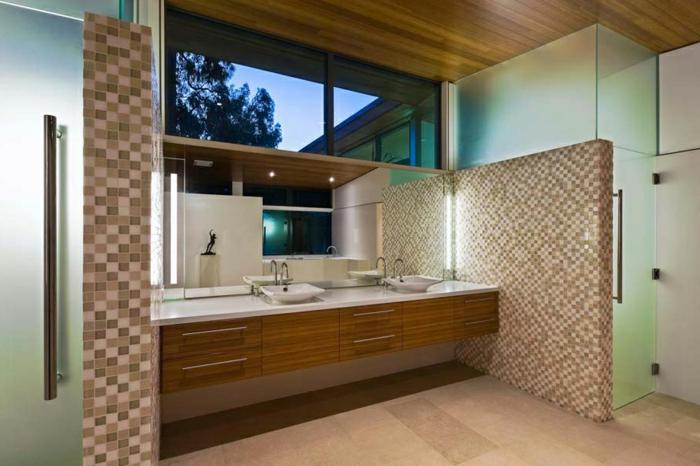 Interessant Badezimmer Mosaik ~ Badezimmer mit mosaik gestalten ideen archzine