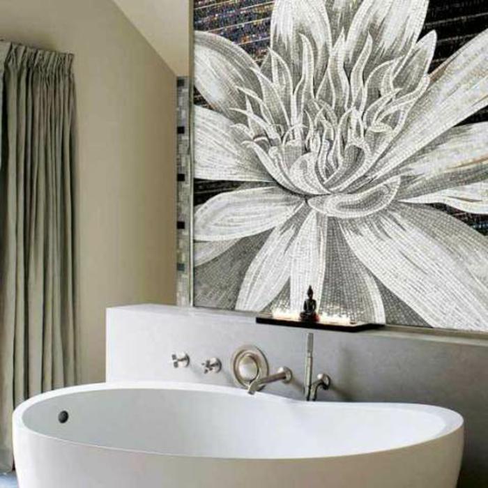 Mosaik Akzente Badezimmer ? Bitmoon.info Badezimmer Mit Mosaik Gestalten