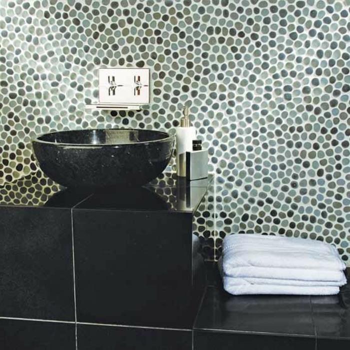 badezimmer mit mosaik gestalten: 48 ideen - archzine, Badezimmer