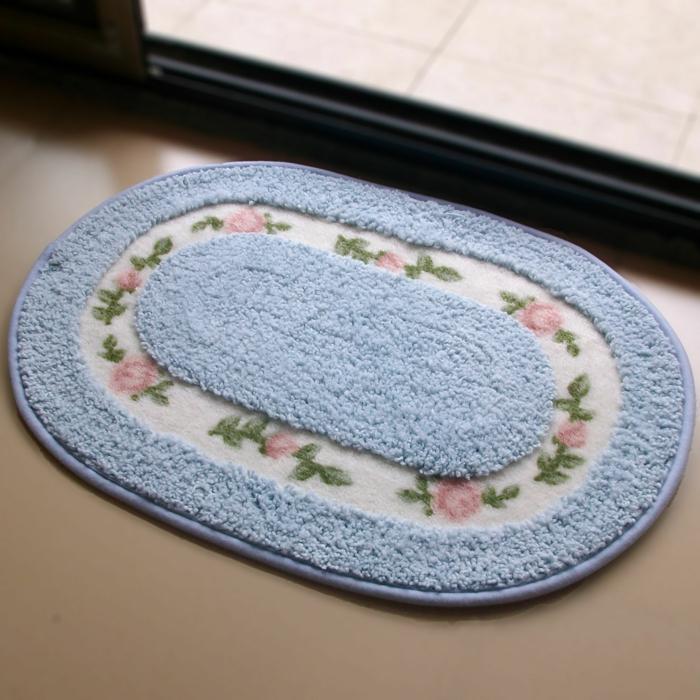 badezimmer-teppich-Fußmatte-rustikal