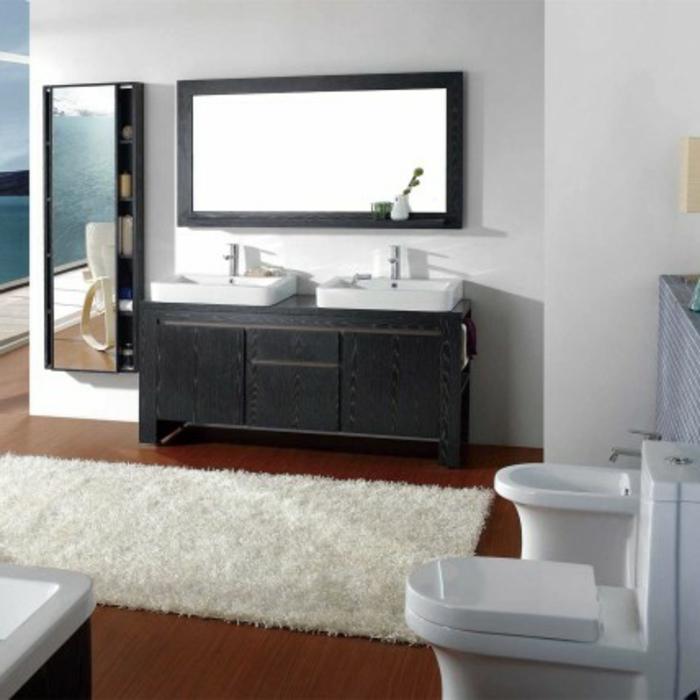 Badezimmer  Teppich Für Waschtisch