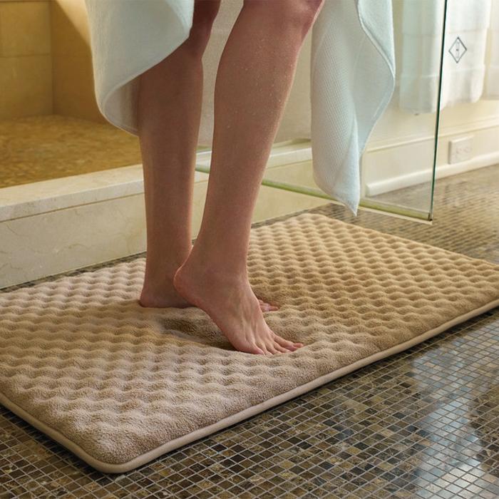 Badezimmer  Teppich Traditionell