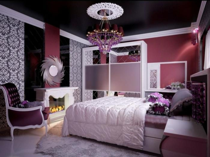 barbie -haus-dunkel-schladzimmer-schwarze-decke