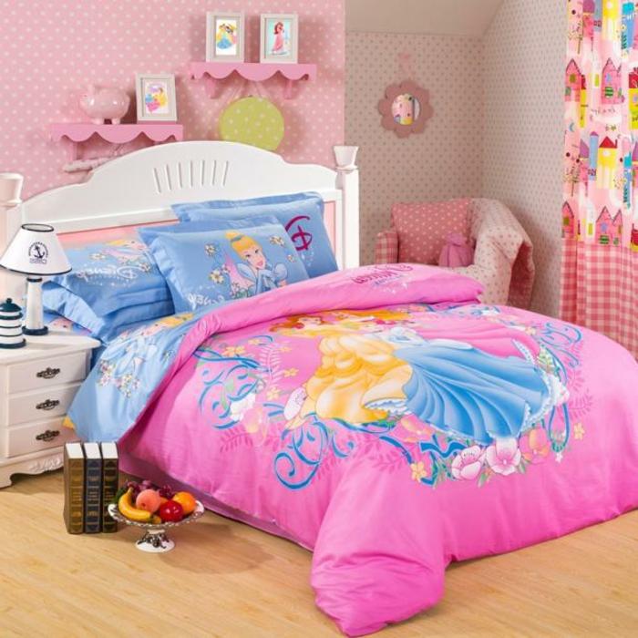 barbie- haus-für-mädchen-schlafzimmer