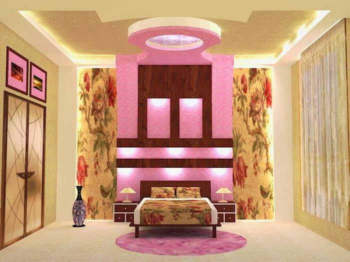 barbie- haus-gold-rosa-schlafzimmer