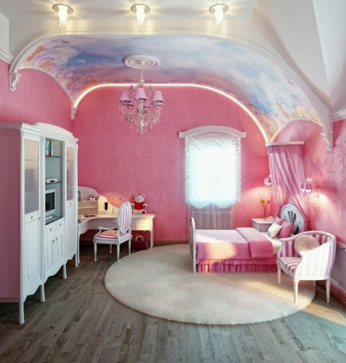 barbie- haus-großes-schlafzimmer