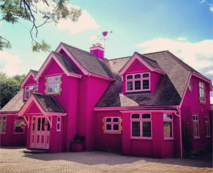 barbie- haus-rosa