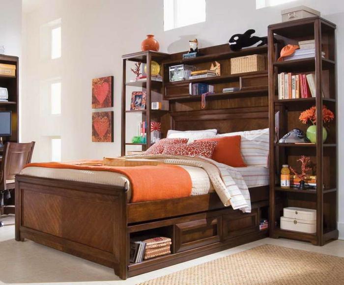 Super auffälliges Schlafzimmer: diese Gestaltung könnte einen ins ...