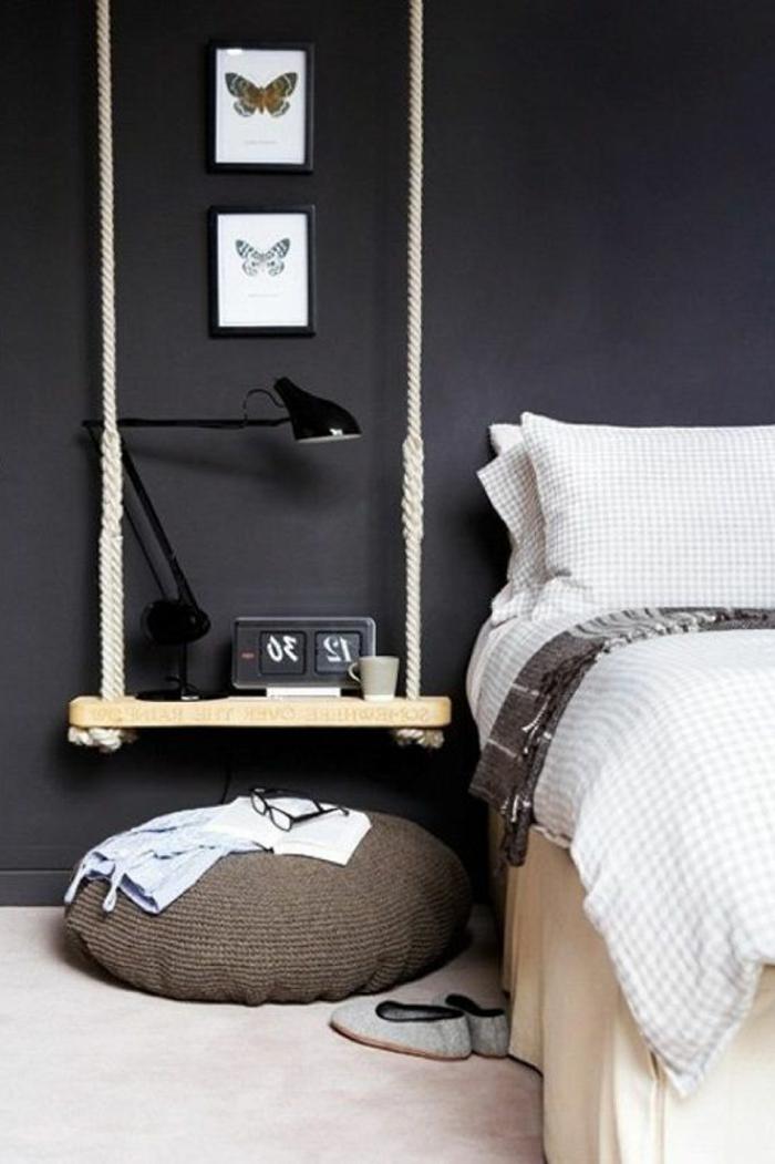 bett-mit-regal-weißes-design-und-schwarze-wand