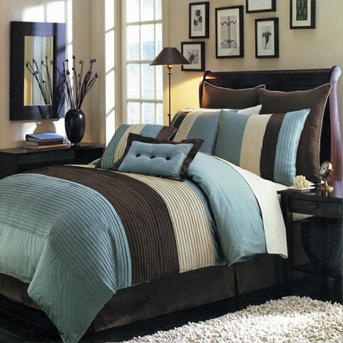 Schon Interessante Vorschläge Für Bettwäsche In Blau | Schlafzimmer ...
