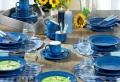 Blaues Geschirr: 40 schöne Modelle!
