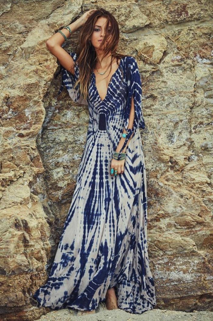 Kleid maxi boho