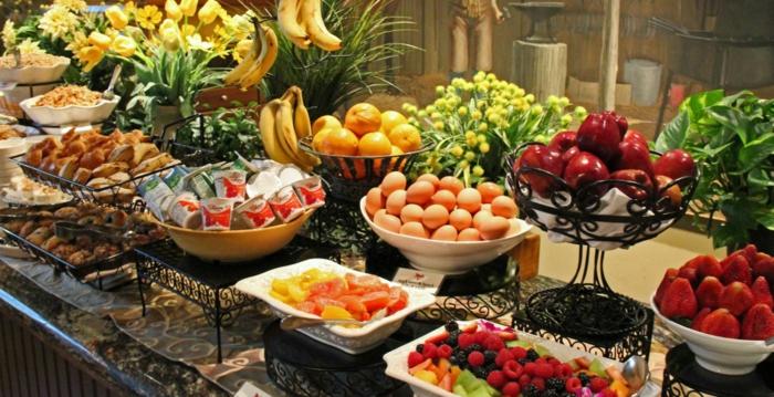 buffet-ideen-frühstück-machen