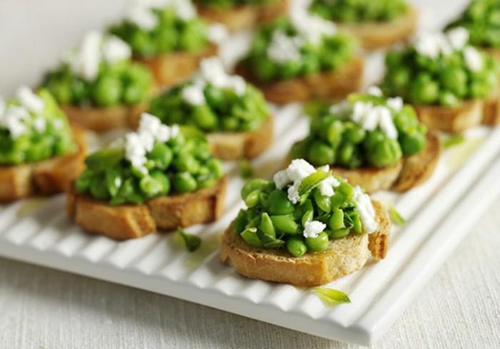 buffet-ideen-grüne-akzente