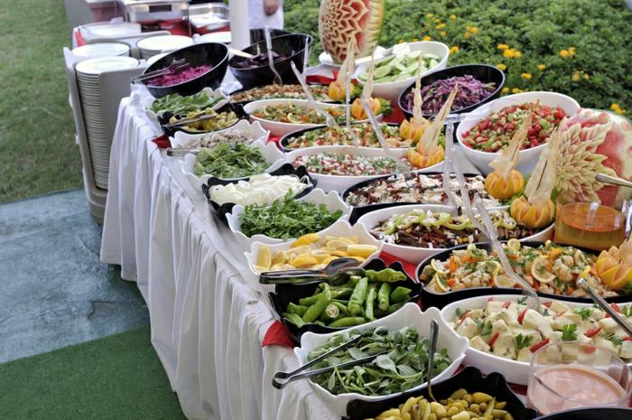 Buffet Ideen Gartenparty ~ Kreative Ideen für Innendekoration und ...